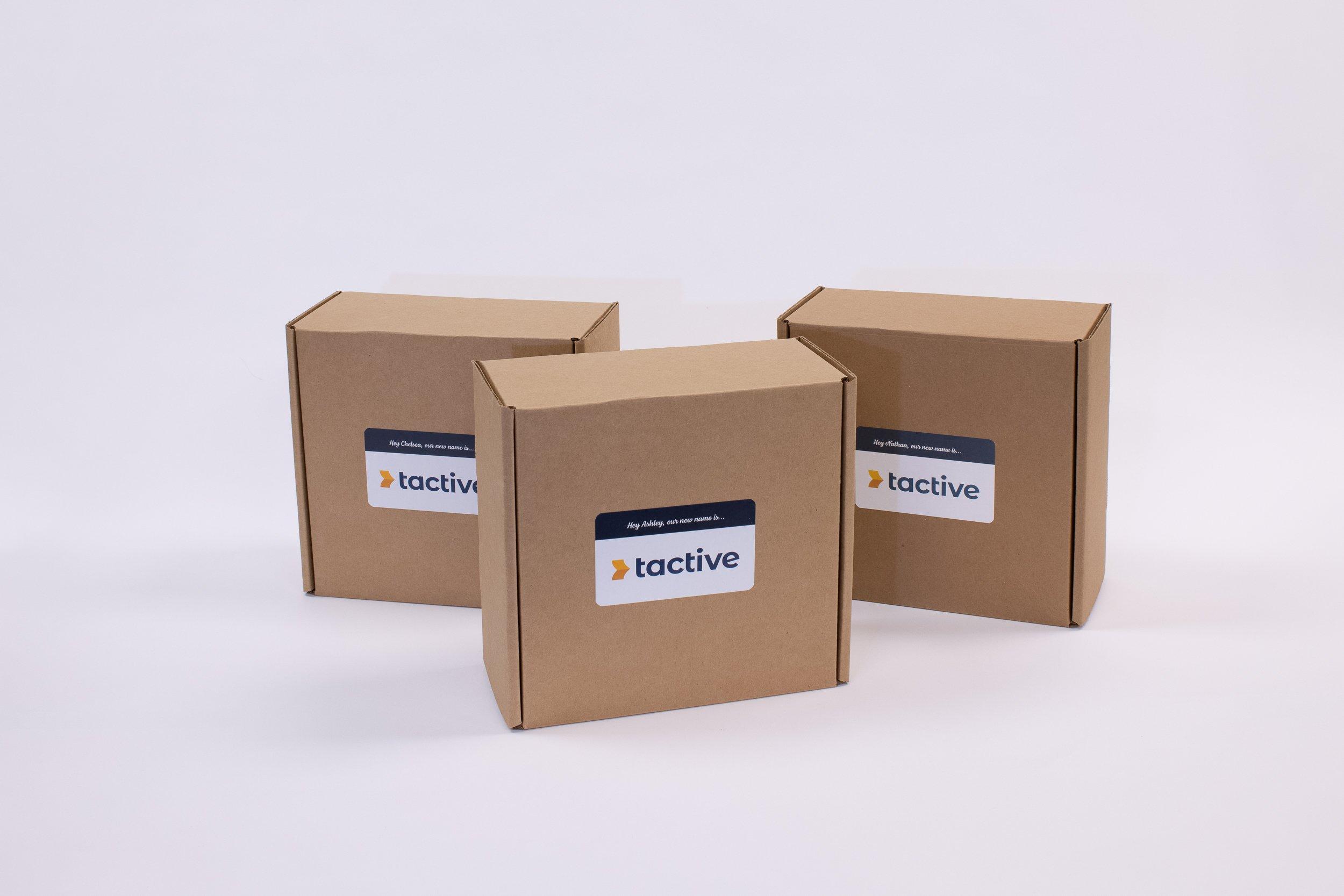 Tactive Announcement 3DDM Boxes